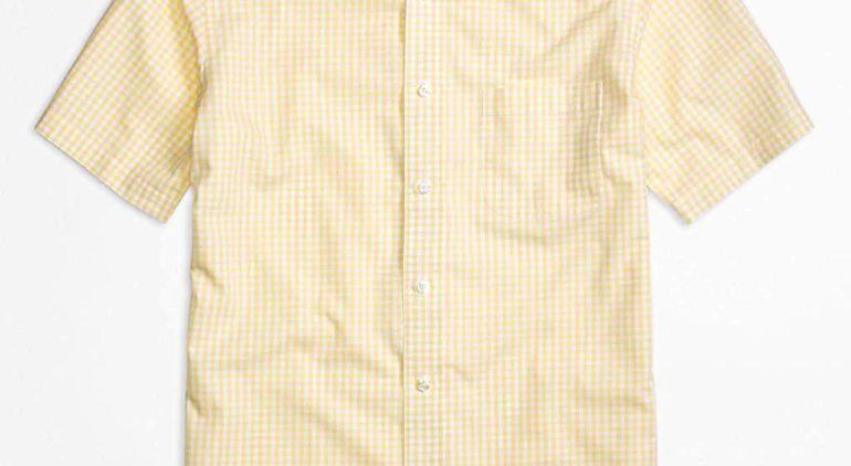 ブルックスブラザーズのショートスリーブシャツ|半袖