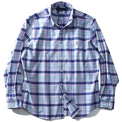 ラルフローレンのチェック柄シャツ