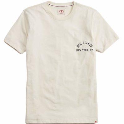 ブルックスブラザーズの淡い色合いの半袖Tシャツ
