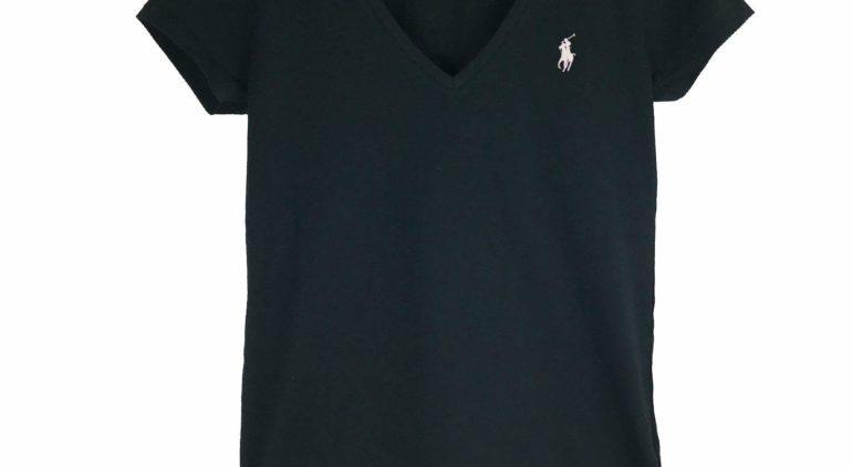 ラルフローレンのVネックTシャツ