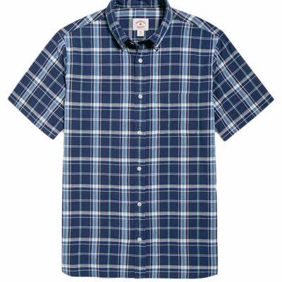 brooksbrothersの半袖シャツ