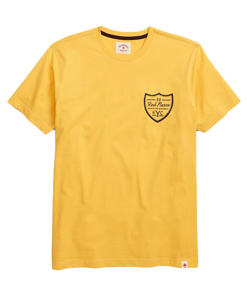 BrooksBrothersの半袖Tシャツ レッドフリース