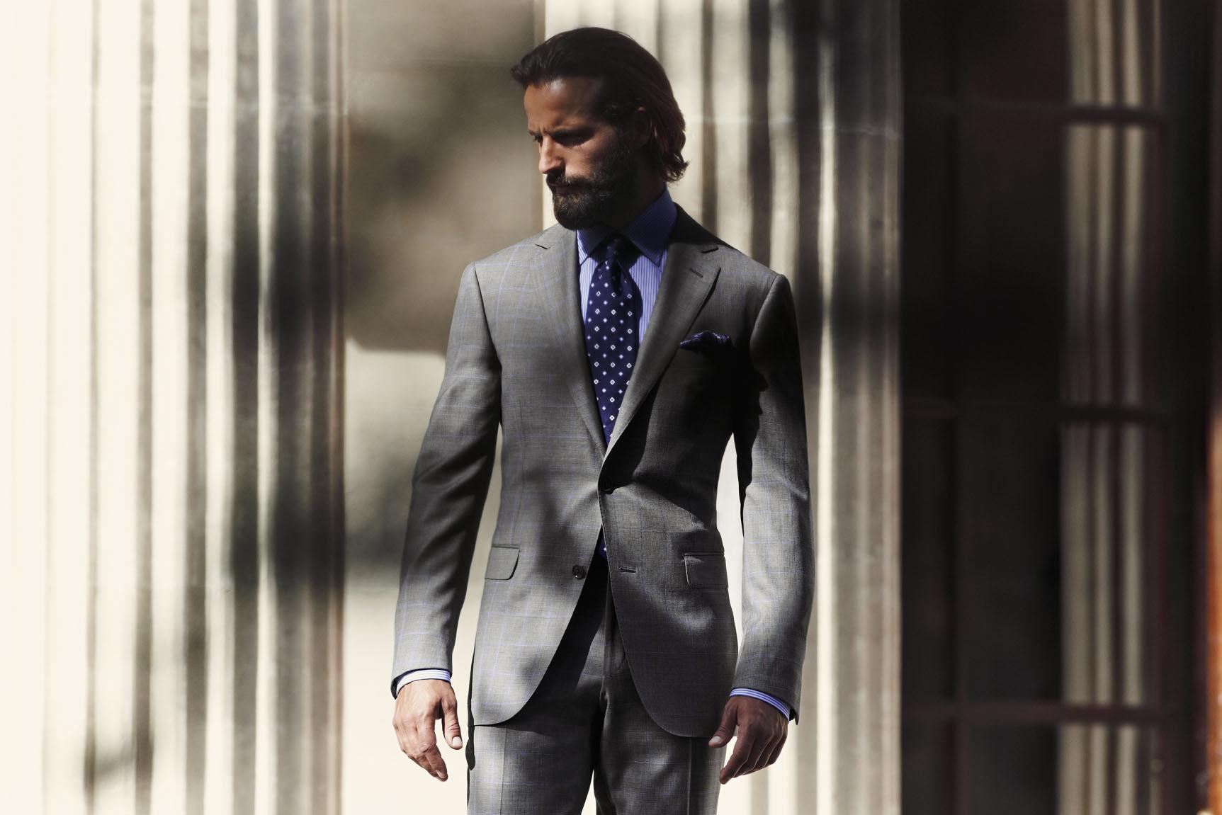 スーツの選び方について
