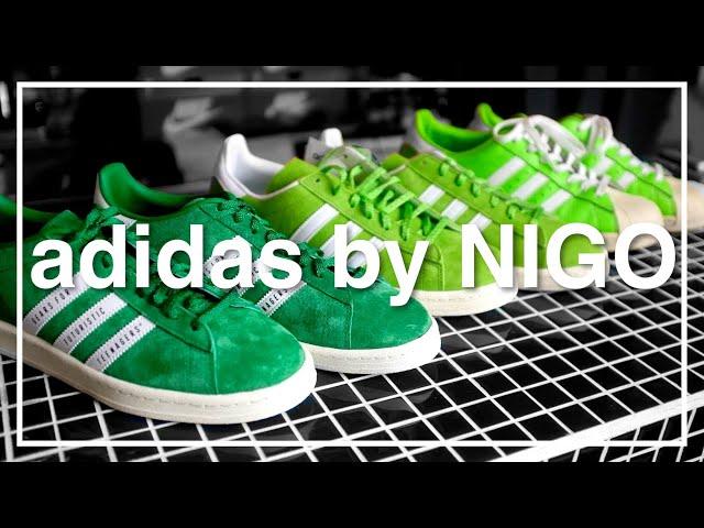 【adidas campus by NIGO】アディダスのキャンパスが好きだけど定番色を持ってない人の話。 A BATHING APE(ア・ベイシング・エイプ) HUMAN MADE 80's