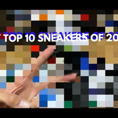 MINORU'S TOP 10 SNEAKERS of 2020! NIKE adidas NewBalance Puma ASICS