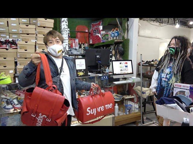 【買うシリーズ】ブランドバイヤーズ大阪で爆買いしてみた supreme(シュプリーム)NIKE(ナイキ)