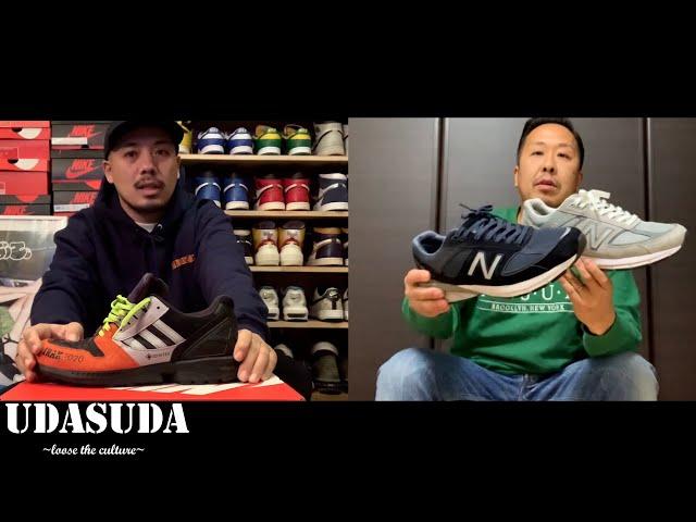 "UDASUDAが選ぶ、2020年最も良く履いたお気に入りスニーカーBEST3を発表。 UDASUDA "" Loose the culture"" #10"