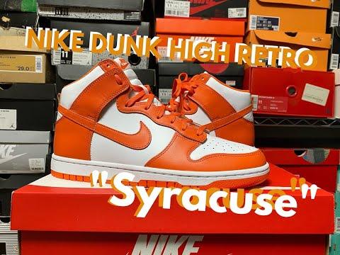 "NIKE DUNK HIGH RETRO ""Syracuse(シラキュース) / オレンジ白"""