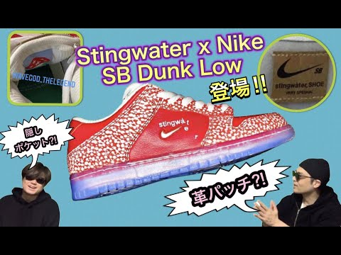 新たなコラボ!Stingwater x Nike SB Dunk Low!BAPE x New Balance 2002R Nike Air Max 90 OLIVER PEOPLES EYEVAN