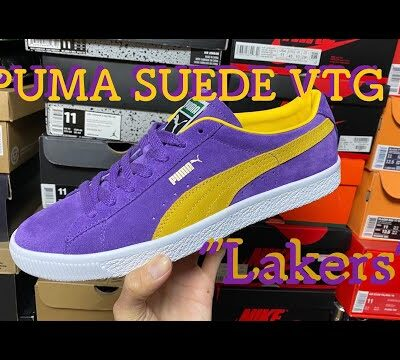 "PUMA SUEDE VTG ""LAKERS""(プーマ スエード レイカーズ) review & on feet!!"