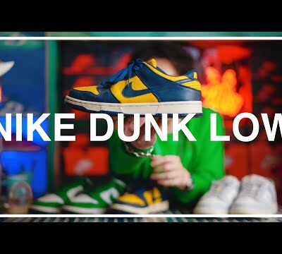 【待望の復刻】ナイキ ダンク ロー ミシガン 延期を重ねて販売間近のNIKE DUNK LOW 購入検討中の3足