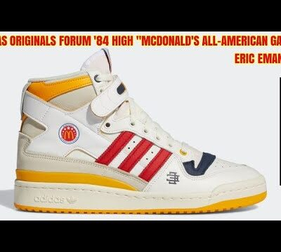 "ERIC EMANUEL × ADIDAS ORIGINALS FORUM '84 HIGH ""McDonald's ALL-AMERICAN GAME"" に戦いを挑んだ結果【2021.04.21】"