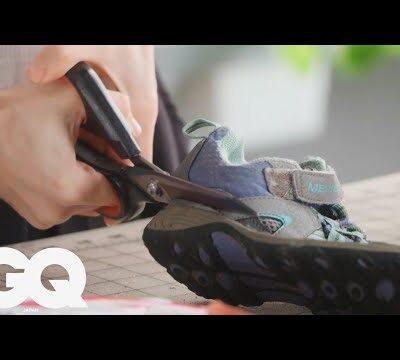 元Reebok(リーボック)社員のスニーカーDIYとアップサイクリング術 | GQ JAPAN