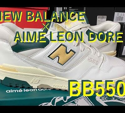 New Balance(ニューバランス) × AIME LEON DORE BB550 (P550) review & on feet!
