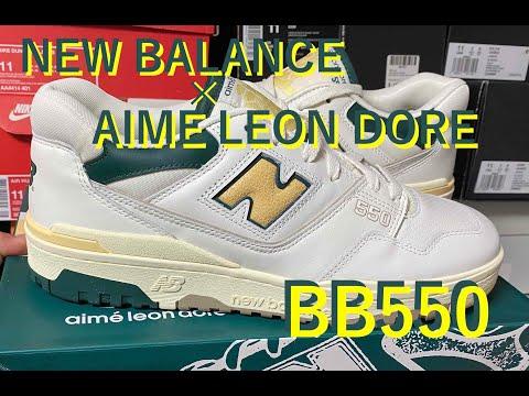 New Balance(ニューバランス) × AIME LEON DORE BB550 (P550) review & on feet!
