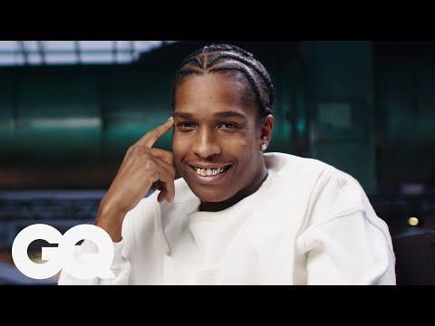 A$AP Rockyが自身の歴代ファッションを解説 | GQ JAPAN