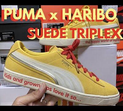 PUMA x HARIBO SUEDE TRIPLEX|MINORU SUZUKI