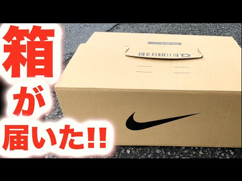 NIKEから箱が届いた【スニーカー研究】