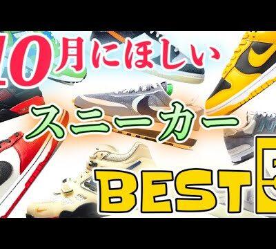 【スニーカーランキング】DUNK / sacai / JORDAN / NB etc…