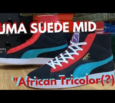 """PUMA SUEDE MID XXI """"African Tricolor / Multicolor"""" review & on feet!"""
